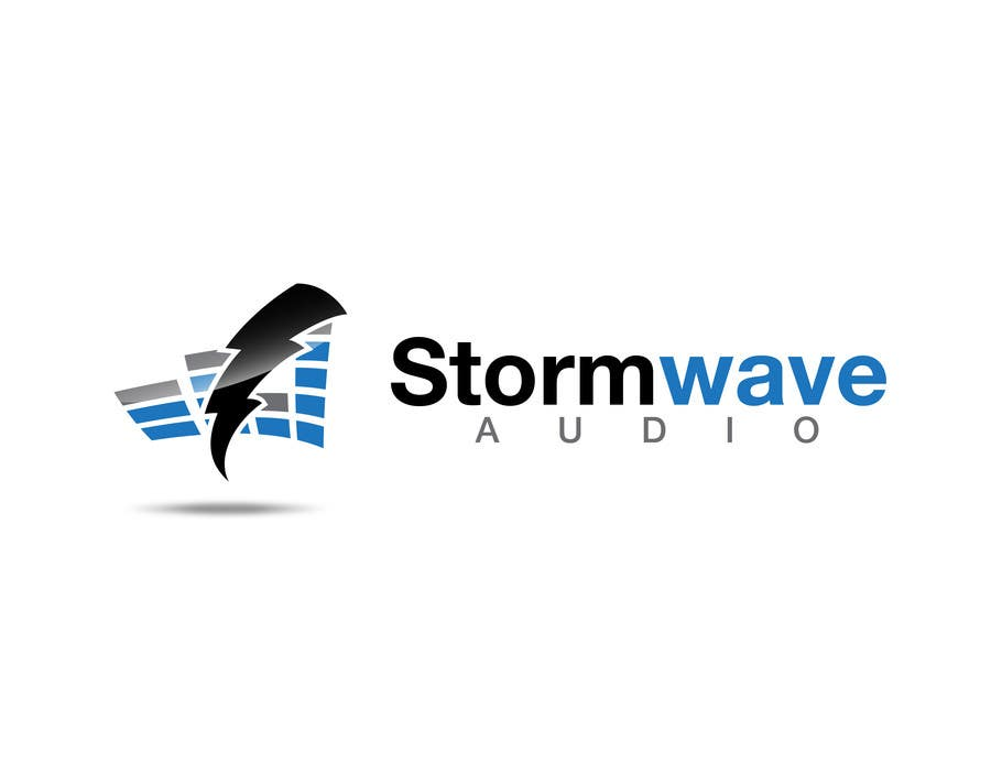 Konkurrenceindlæg #                                        104                                      for                                         Logo Design for Stormwave Audio
