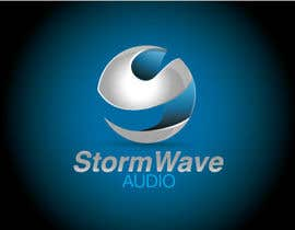 #139 para Logo Design for Stormwave Audio por etelisma