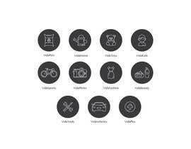 nº 19 pour Design some Icons par vitlitstudio