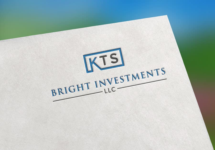 Proposition n°205 du concours KTS Logo for an investment company