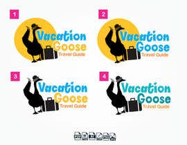 #19 for Design a Logo for Vacation Goose Travel Guide book cover by Eve17