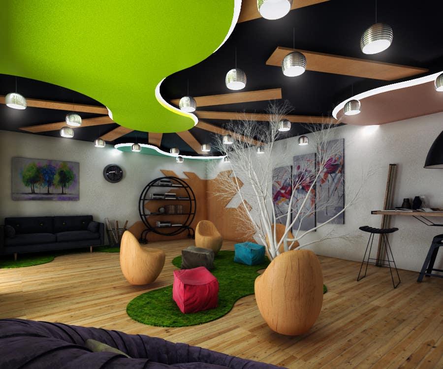 Kilpailutyö #                                        13                                      kilpailussa                                         3d interior Design for 2 rooms (2 days contest) -- 1000$ project