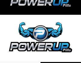 #258 untuk Logo Design for Power Up Pills oleh raikulung