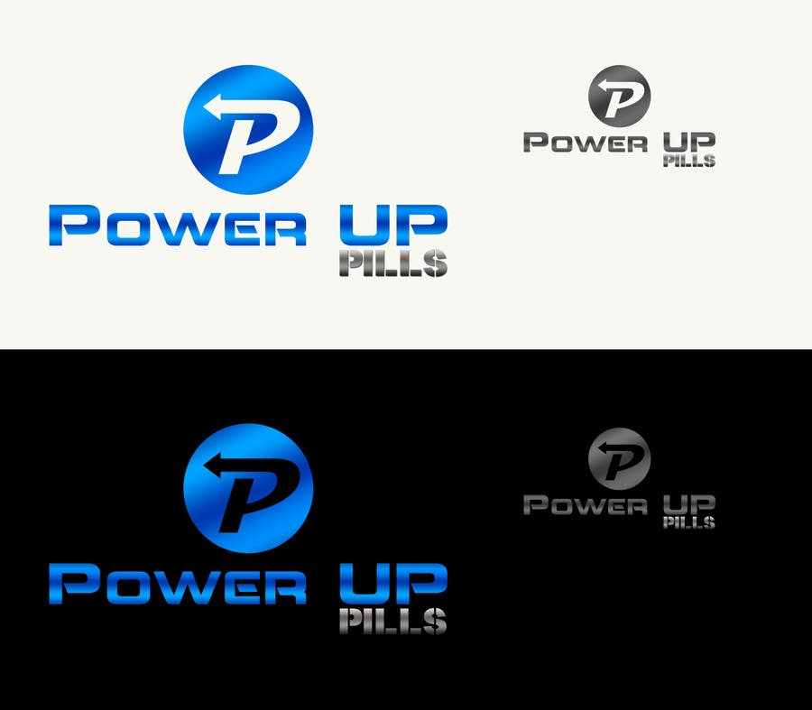 #175 for Logo Design for Power Up Pills by CGSaba