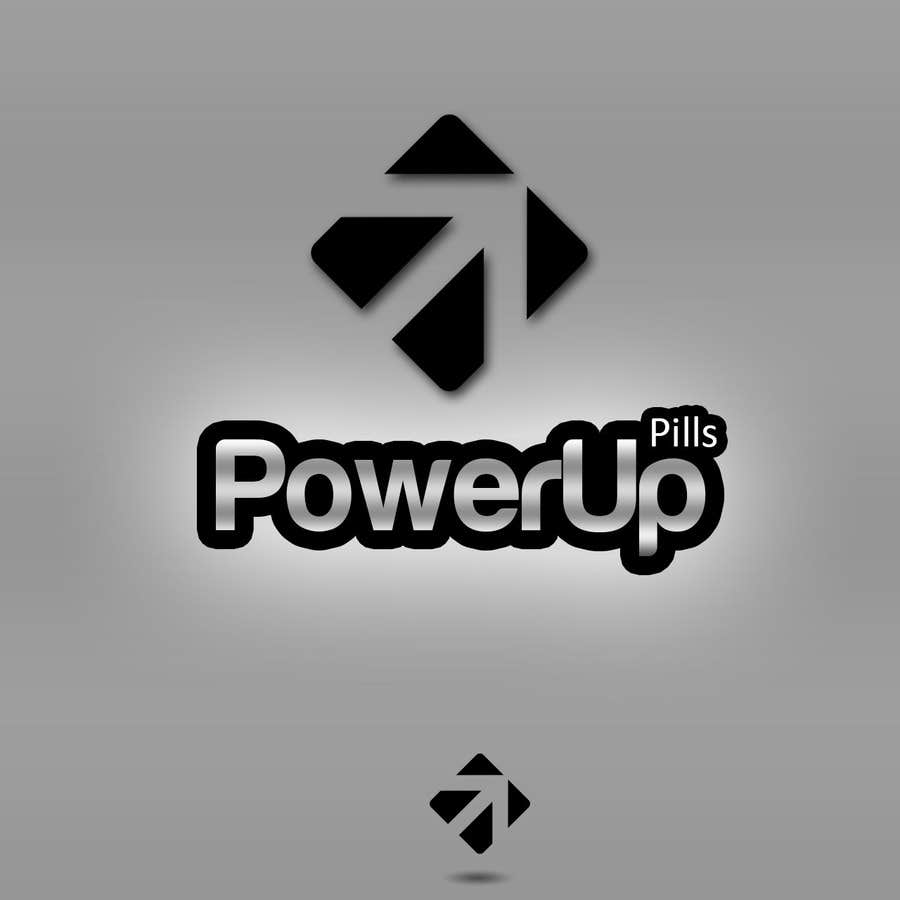 Конкурсная заявка №136 для Logo Design for Power Up Pills