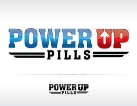 #221 untuk Logo Design for Power Up Pills oleh ipanfreelance