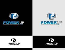 #223 para Logo Design for Power Up Pills por ifulfreeds