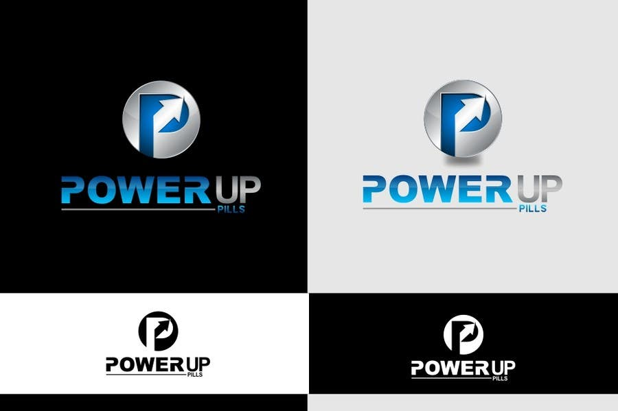 #126 for Logo Design for Power Up Pills by ifulfreeds