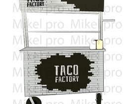 nº 10 pour Design a cartoon/logo of a foodtruck par mikelpro