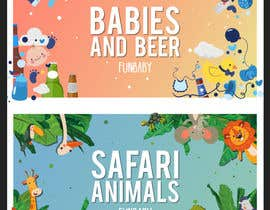 #11 for Fun Baby Themed Website Background Illustrations by pedroeira6