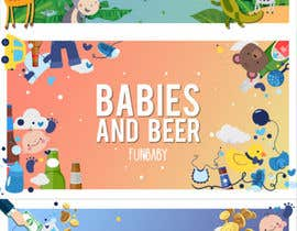nº 16 pour Fun Baby Themed Website Background Illustrations par pedroeira6