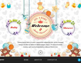 #7 for Fun Baby Themed Website Background Illustrations by adixsoft