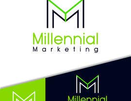 nº 1 pour Millennial Marketing Logo Design par ahmedelshirbeny