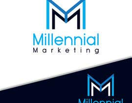 nº 2 pour Millennial Marketing Logo Design par ahmedelshirbeny