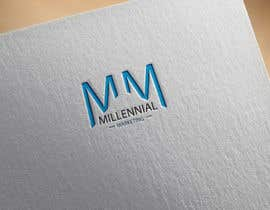 nº 76 pour Millennial Marketing Logo Design par probirbiswas815