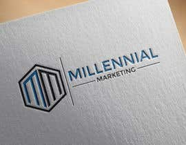 nº 68 pour Millennial Marketing Logo Design par bablaroy070