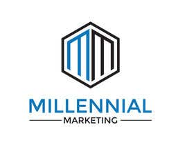 nº 69 pour Millennial Marketing Logo Design par bablaroy070