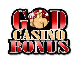 nº 93 pour Logo Design for God Casino Bonus par rogeliobello