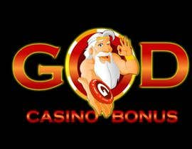 nº 141 pour Logo Design for God Casino Bonus par kingmaravilla