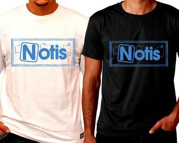 #29 for NOTIS Tshirt Logo Design by ozafebri