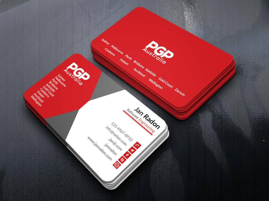Entry #234 by murad384 for Design some Business Cards for ...