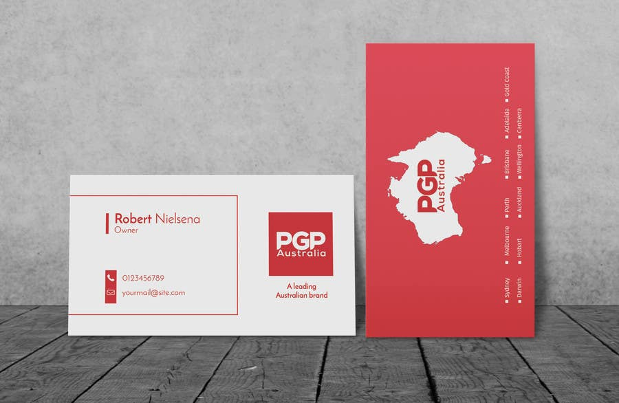 Entry #386 by Muij for Design some Business Cards for Recruitment ...