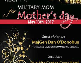 #34 for Military Mothers Day Flyer Template by pinglive2014