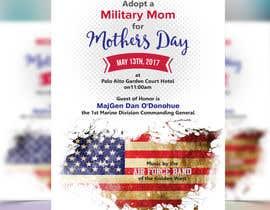 Nro 7 kilpailuun Military Mothers Day Flyer Template käyttäjältä meenapatwal