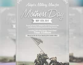 Nro 8 kilpailuun Military Mothers Day Flyer Template käyttäjältä meenapatwal