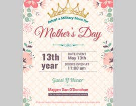 nº 22 pour Military Mothers Day Flyer Template par ibrainsdev