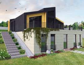 nº 25 pour Realistic renderings...two images for exterior building par LanreOyewo