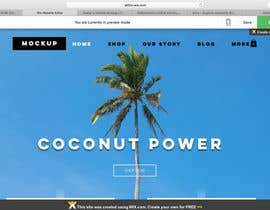 Nro 8 kilpailuun Design a Website Mockup käyttäjältä janajancova356