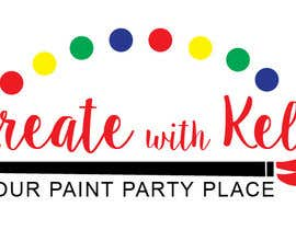 nº 5 pour Paint Party Logo par Katherinerazzi