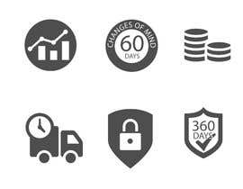 nº 13 pour Design 6 simple Icons par babarhossen