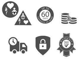 nº 20 pour Design 6 simple Icons par babarhossen