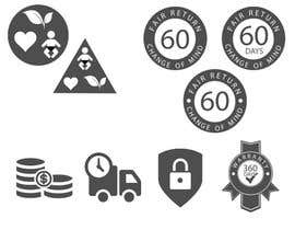 #23 for Design 6 simple Icons by babarhossen
