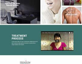 #7 for Premium Tattoo Removal Website by latheeshvmvilla