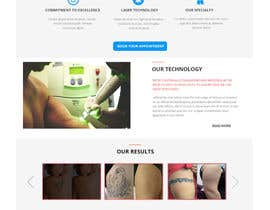 nº 6 pour Premium Tattoo Removal Website par sharpensolutions