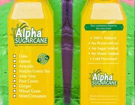 nº 37 pour Bottle Label Design par ariamul123