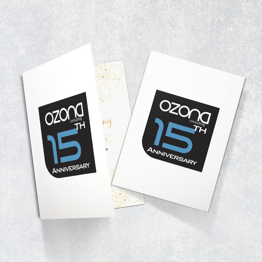 Proposition n°85 du concours Logo variation to celebrate 15th Anniversary