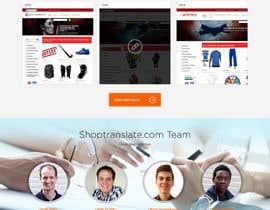 Nro 17 kilpailuun Design website mockups for translation / shop management software käyttäjältä webplane8