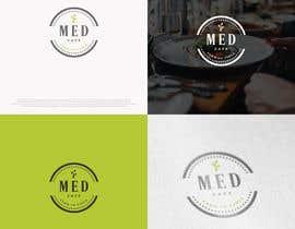 nº 177 pour Logo for Med Cafe par imtishaalz
