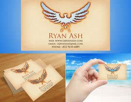 nº 18 pour Business Card Design for Ryan Ash par junioreed25