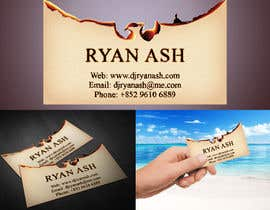 #37 untuk Business Card Design for Ryan Ash oleh junioreed25