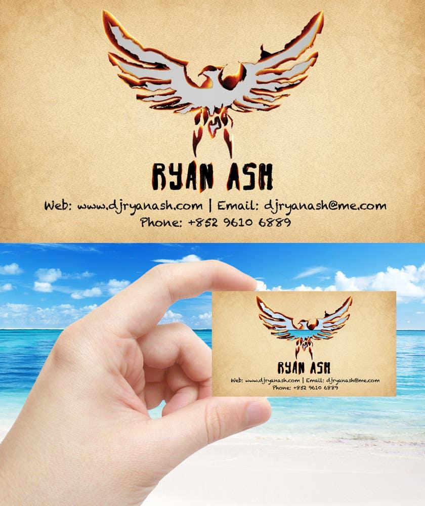 Конкурсная заявка №31 для Business Card Design for Ryan Ash
