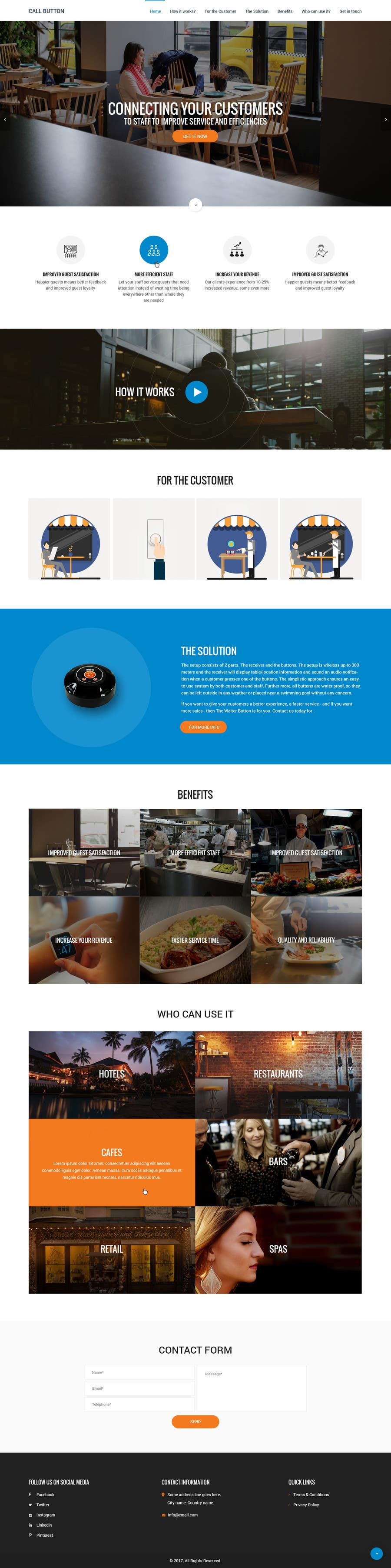 Proposition n°30 du concours Design a Website Mockup for a new product