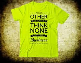 #75 for Design a T-Shirt by Abidhasan4