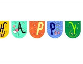 nº 84 pour Design a Happy Birthday Banner par poojawcmc