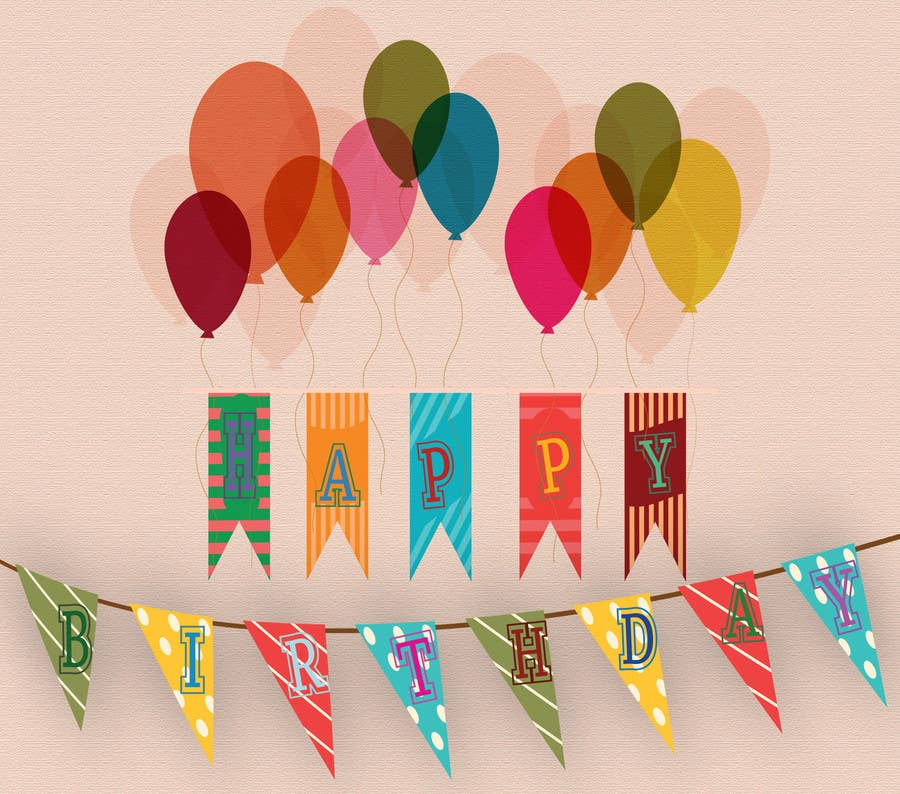 Proposition n°27 du concours Design a Happy Birthday Banner
