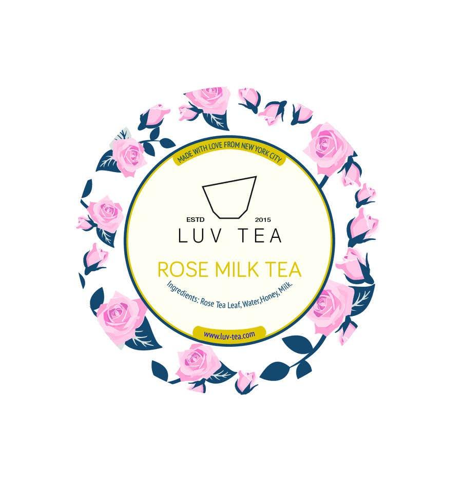 Proposition n°57 du concours Tea Drink Label